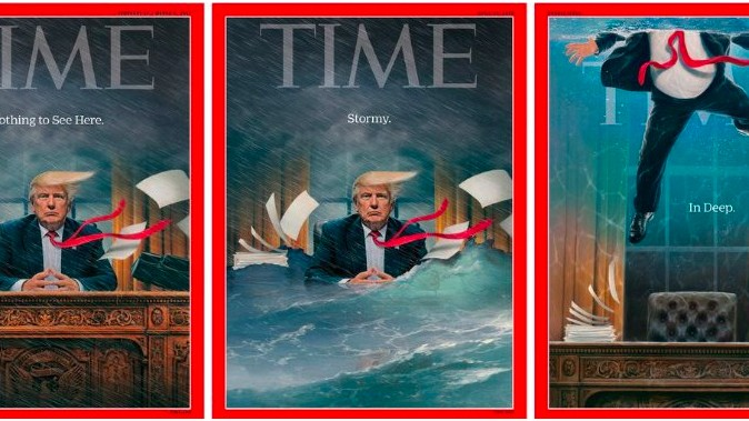 Cover des Time Magazines