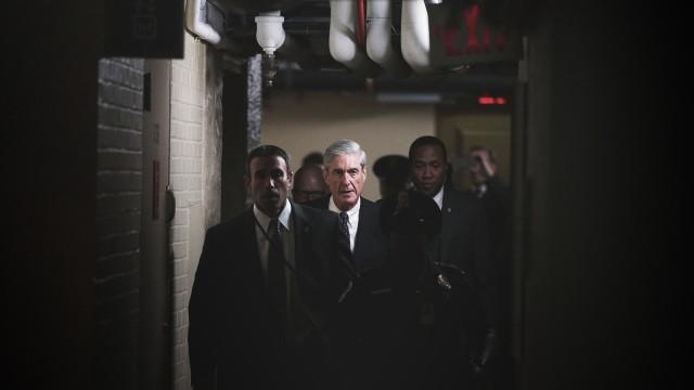 Special Prosecutor Robert Mueller Briefs Senate Intel Committee On Capitol Hill