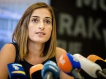 Mesale Tolu wieder in Deutschland - Pressekonferenz