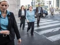 Angela Merkel im Sommer Interview