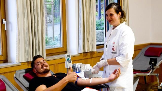 Fereienreporter Blutspenden