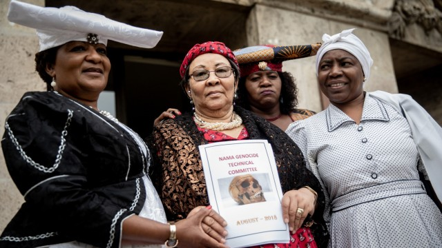 Berliner Justizsenator empfängt Ovaherero und Nama