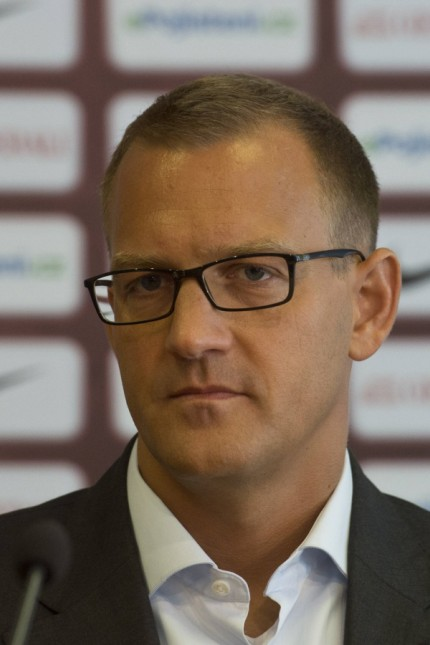 Sparta s owner Daniel Kretinsky attends a news conference in Prague Czech Republic August 30 2016