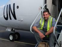 Axel Hallbauer, UN-Mitarbeiter im Kongo