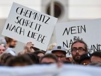 Proteste nach Chemnitz