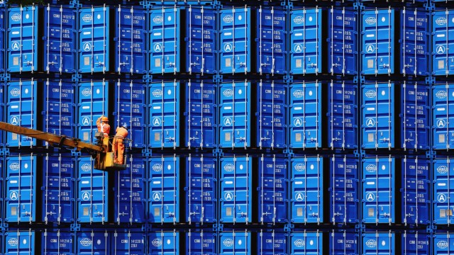 Container aus China