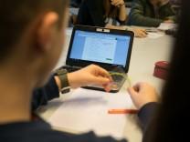 Einsatz digitaler Medien an einer Schule in München, 2017