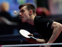 11 4 2018 Zagreb Croatia ITTF Challenge Zagreb Open men s Table tennis Tischtennis Kilian Ort Germa; Kilian Ort