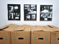 Feldafing: Villino - Thomas Mann Haus : letzte Hausbesichtigung