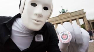 Demonstration gegen 'Killerroboter'
