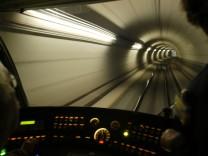 U-Bahn Tunnel der Linie U 1, 2004