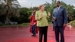 Angela Merkel besucht Senegal