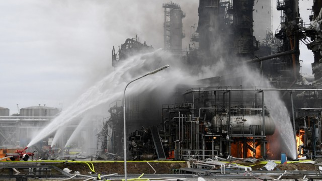 Vohburg Raffinerie Explosion Ingolstadt