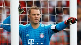 FC Bayern: Manuel Neuer 2018 beim Spiel gegen den VfB Stuttgart