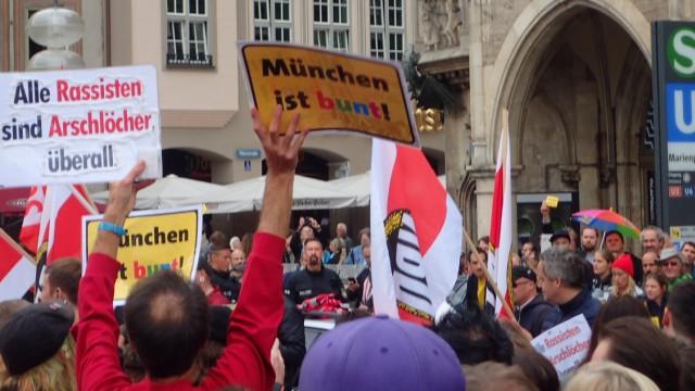 Demo Marienplatz NPD
