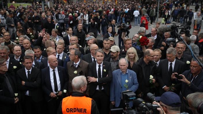 Protests Continue In Chemnitz