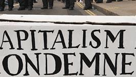 Kapitalismus, Demo, London, AFP