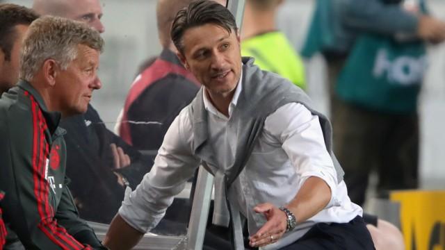 FC Bayern: Trainer Niko Kovac 2018 beim Bundesliga-Spiel gegen den VfB Stuttgart