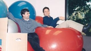 Google-Gründer Larry Page und Sergey Brin