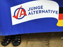 Plakat der Jungen Alternative