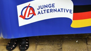 Plakat der Jungen Alternative