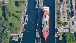 Boot, Yacht und Schiffe Nord-Ostsee-Kanal