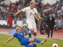 Island - Deutschland; dfb frauen