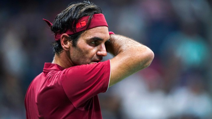 Roger Federer bei den US Open 2018