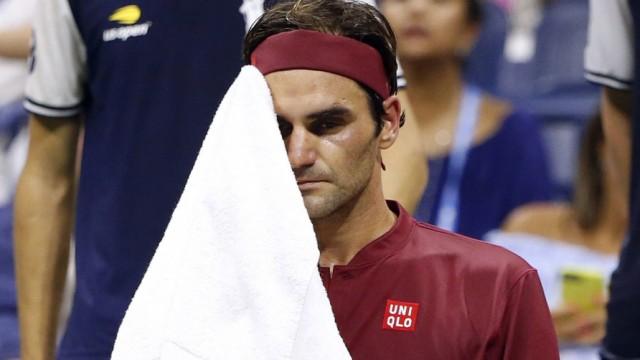 Roger Federer 2018 bei den US Open