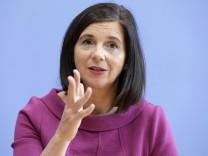 Katrin Goering Eckardt Vorsitzende der Bundestagsfraktion der Gruenen Buendnis 90 Die Gruenen P