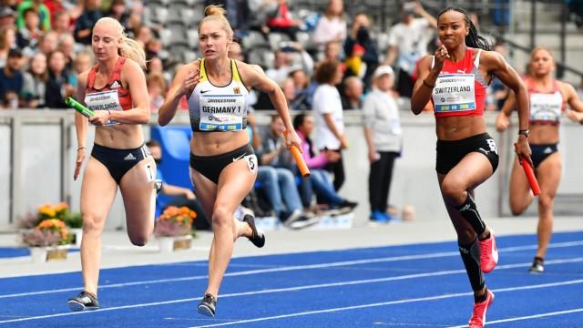 Gina Lückenkemper beim Sprint