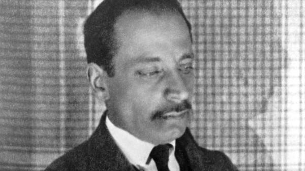 Rainer Maria Rilke 1875 1926 Austrian writer born in Prague photograph 1925 Mono Print UnitedArc