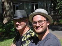 Manni Glissmann und Lukas Voigt
