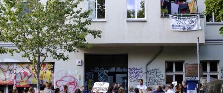 Proteste in Berlin gegen Mieterhöhungen