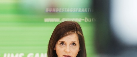 Die Fraktionsvorsitzende der Grünen Katrin Göring-Eckardt