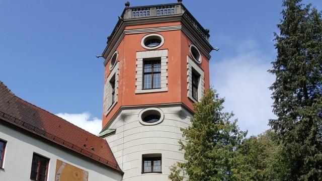 Der Kastenturm am Roten Tor in Augsburg