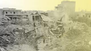 Syrien: Zerstörtes Dorf in der Idlib-Provinz