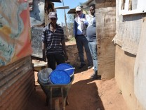 Township Elend Soweto mit Peter Schäfer aus Grafing