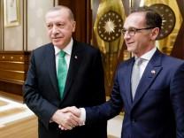 Außenminister Maas in der Türkei