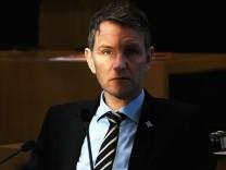 Björn Höcke 2017 im Thüringer Landtag