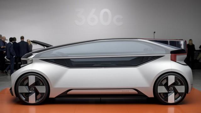 Volvo präsentiert selbstfahrendes Auto