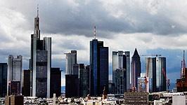 Frankfurt, Skyline, dpa