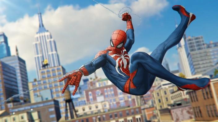 screenshot spider-man