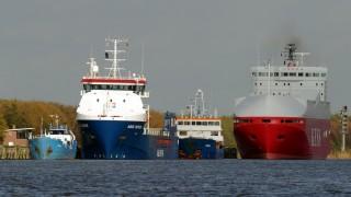 Havarierter Frachter 'Siderfly'