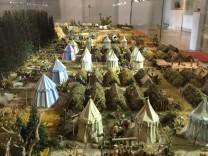 Wallensteins Lager als Modell im Museum Zirndorf