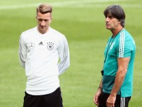Germany Training Session And Press Conference