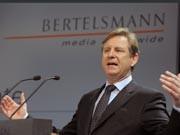 Bertelsmann-Chef Hartmut Ostrowski, Foto: dpa