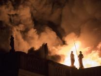Feuer im Nationalmuseum in Brasilien