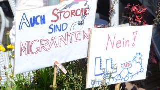 Dachau Protestkundgebung am Ernst-Reuter-Platz