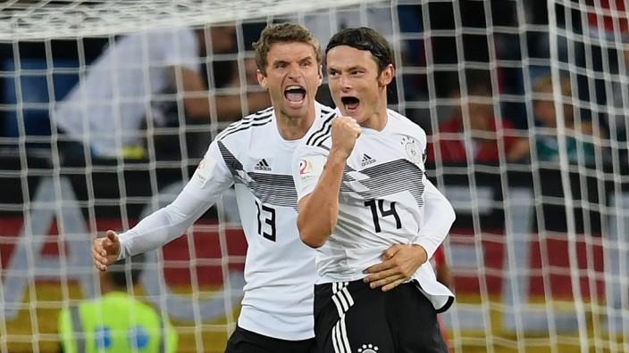 Fussball Nico Schulz Schiesst Deutschland Zum Sieg Sport